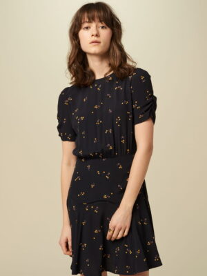 Vestido Lucie Dance Dark Navy Sessun